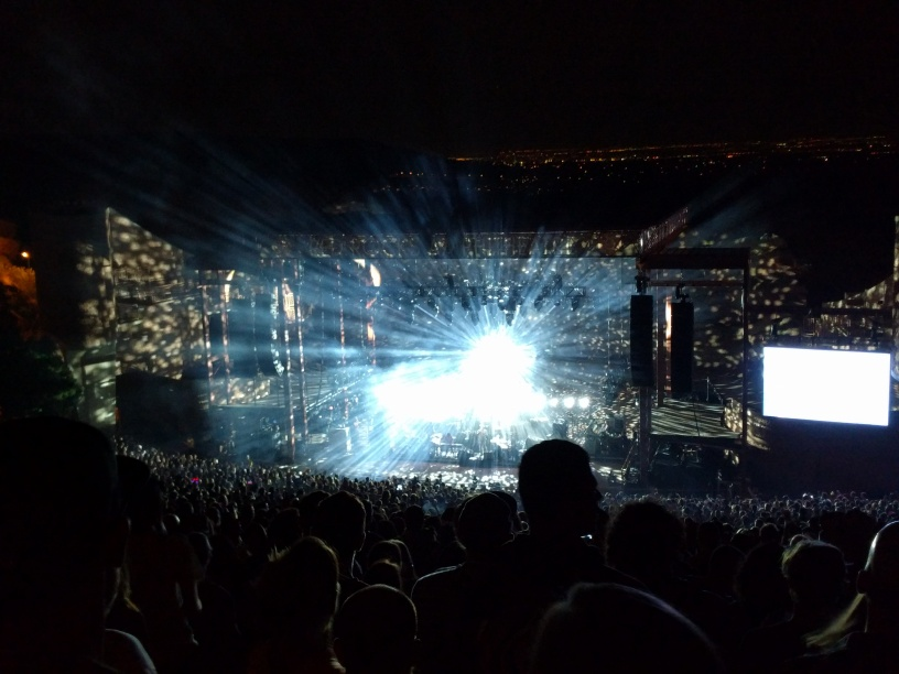double concert review the national and lcd soundsystem at red rocks